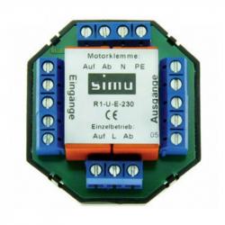 Simu Trennrelais und Mehrpunkt-Steuerrelais R1-U-E-230