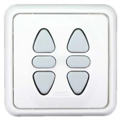 Somfy Zweifach-Schalter Inis Duo VB (Raffstore - mit Wendefunktion)