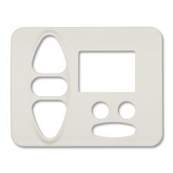 Abdeckplatte Berker S.1 / B.1 / B.7, polarweiß hochglanz | für Somfy Chronis Uno smart, Chronis Uno easy