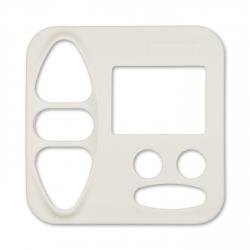 Abdeckplatte Busch-Jäger Duro 2000 SI, (creme) weiß matt | für Somfy Chronis Uno Smart, Chronis uno easy