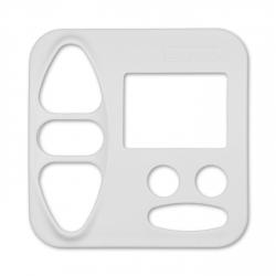Abdeckplatte Busch-Jäger Reflex SI, studioweiß matt | für Somfy Chronis Uno Smart, Chronis uno easy
