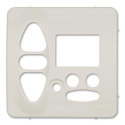Abdeckplatte Jung CD 500 / ST 550 / CD 500 Plus, (creme) weiß matt | für Somfy Chronis Uno L comfort, Chronis IB L comfort
