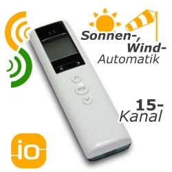 Easy Sun io Pure - Bidirektionale Funk-Mehrkanal und Sonnenschutzsteuerung