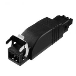 Somfy Funkempfänger Universal Slim Receiver RTS, integrierte Wind-Sonnenautomatik, Plug STA3 / STAK3