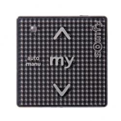 Somfy Smoove Uno IB+ Black Shine, Motoreinzelsteuergerät für Gruppensteuerung IB+
