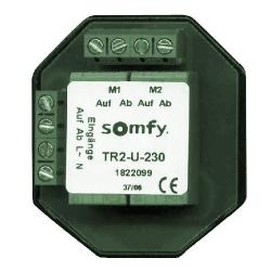 Somfy TR2-U-230 Motor-Trennrelais für 2 Antriebe