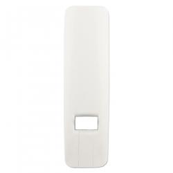 enobi Abdeckplatte für Gurtwickler Venus, Kunststoff weiß glänzend (Blende, reinweiß)