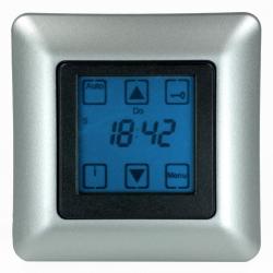 Vestamatic Zeitschaltuhr Quattro S50 Nero mit Touchscreen