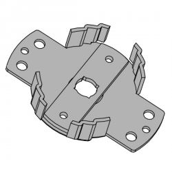 Vestamatic Motorlager Universal WL-UNI / 45 (max. 50 Nm) ; für Vestamatic Rohrmotoren Vestaline VL-45