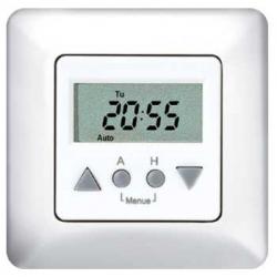Vestamatic WiSo Time Control 50, Sonnen-Wind-Steuerung mit Zeitautomatik, weiß