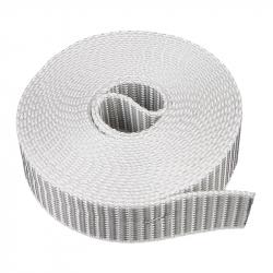 "enobi Rollladengurt ""SV"" 22/23, 23 mm Breite, Farbe grau, Rolle mit 4,50 Meter Gurtlänge"