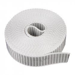 "enobi Rollladengurt ""SV"" 22/23, 23 mm Breite, Farbe grau, Rolle mit 12,00 Meter Gurtlänge"