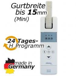 Elektrischer Gurtwickler eWickler Standard Mini eW810, unterputz, bis 15 mm Gurt