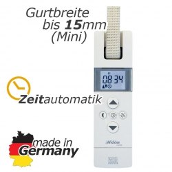 Elektrischer Gurtwickler eWickler Comfort eW820 Mini, unterputz, bis 15 mm Gurt