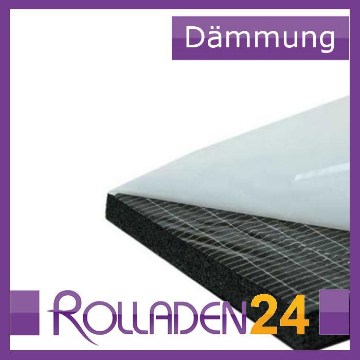d mmmatte selbstklebend f r rollladenkasten rolladen d mmung isoliermatte ebay. Black Bedroom Furniture Sets. Home Design Ideas